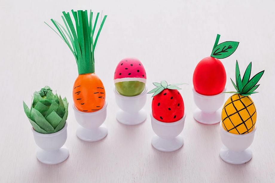 Овощи-фрукты-пасхальные яйца
