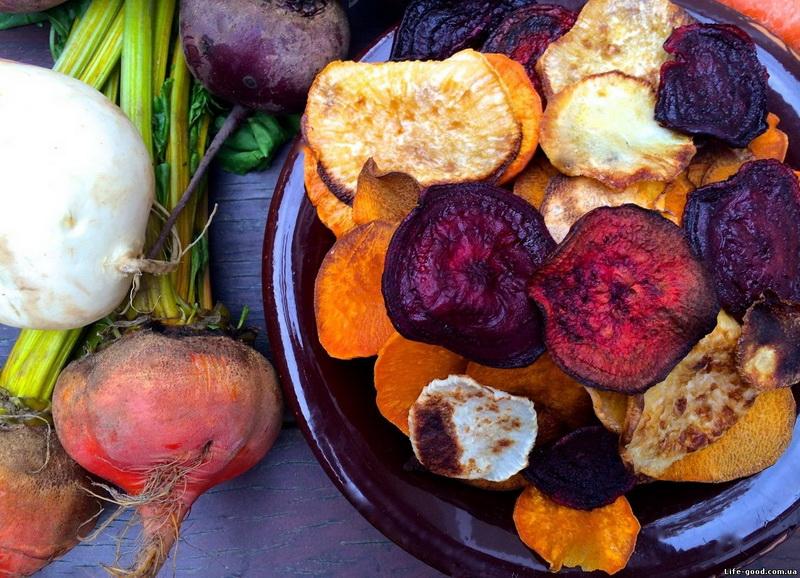 Овощные чипсы-правильное питание