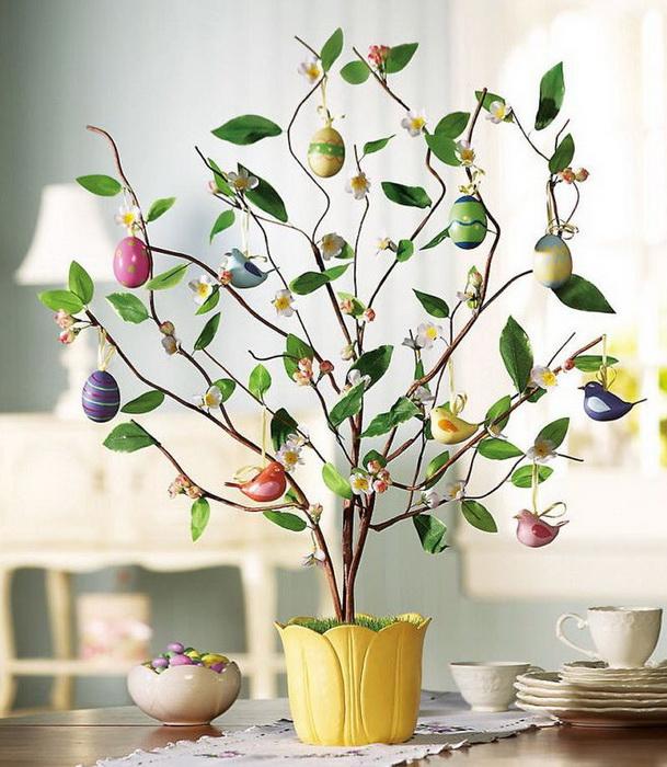 Пасхальное дерево-фото