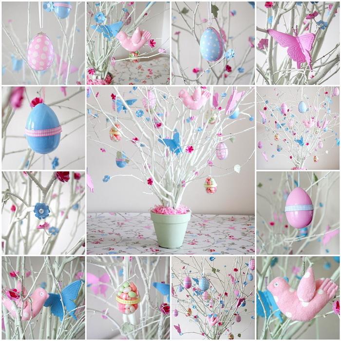 Пасхальное дерево-идеи и креатив