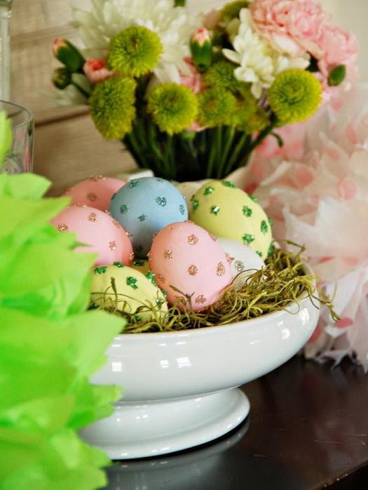 Пасхальные яйца-композиция