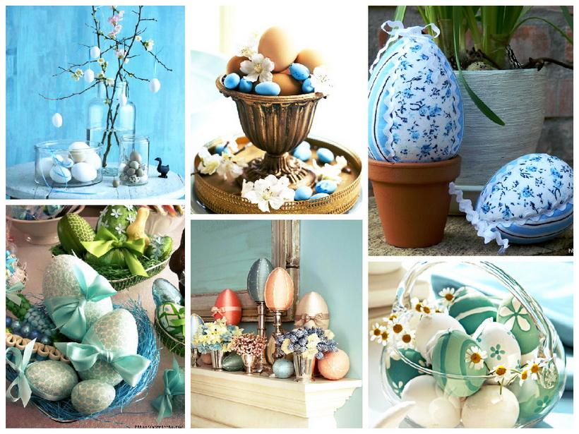 Пасхальный декор-идеи и креатив коллаж