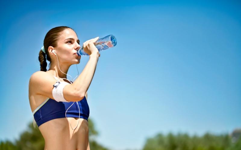 Питьевой режим-пробежка