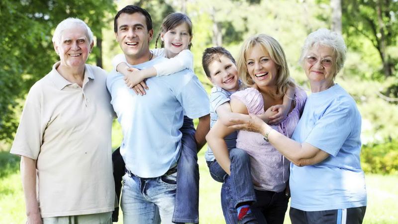 Сбор всей семьи-памятные моменты