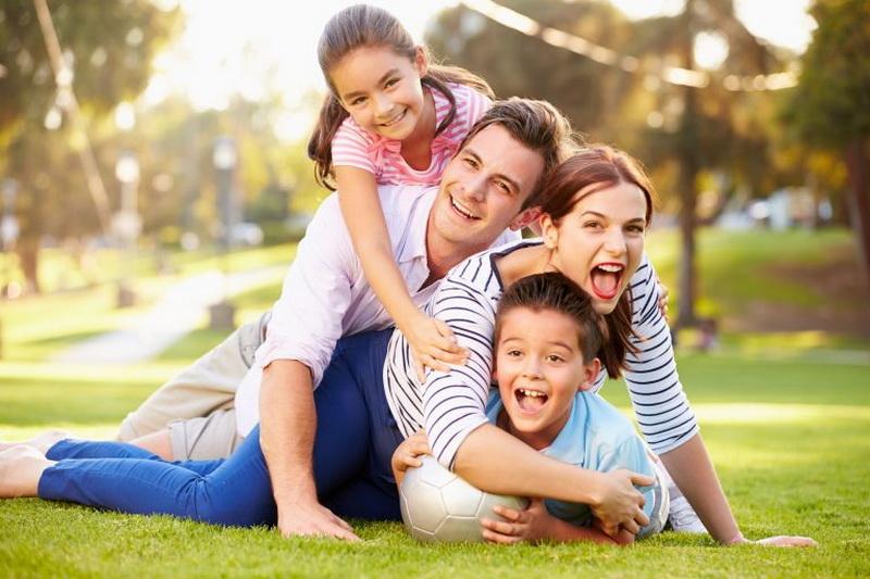 Семейный досуг-на свежем воздухе