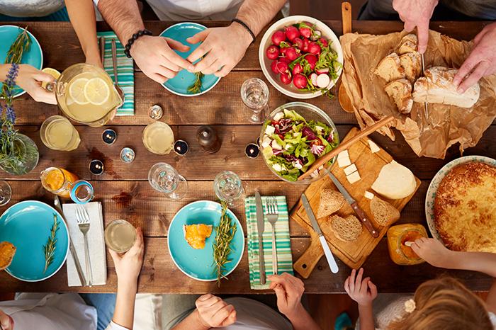 Семейный ужин-традиции