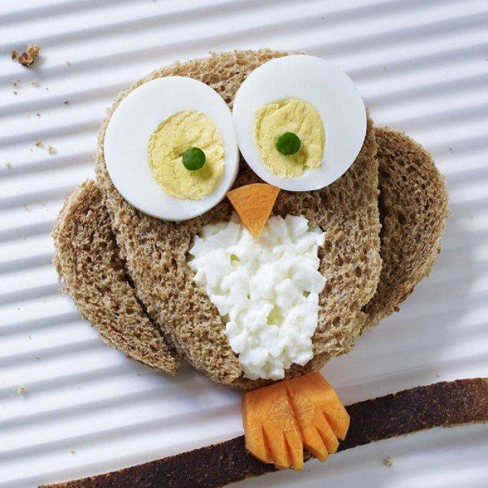 Совушка-бутерброд