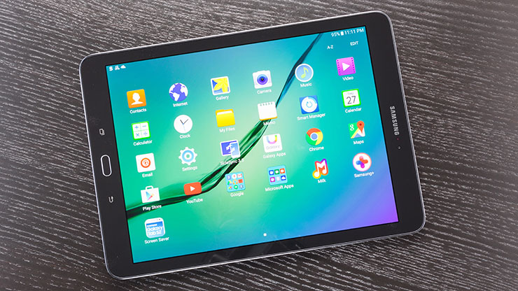 Топ-5 устройств на системе Android - рабочий стол планшета