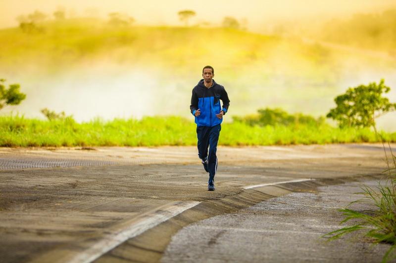 Утренняя пробежка-фото