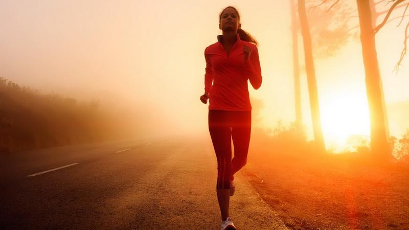 Утро-лучшее время для бега
