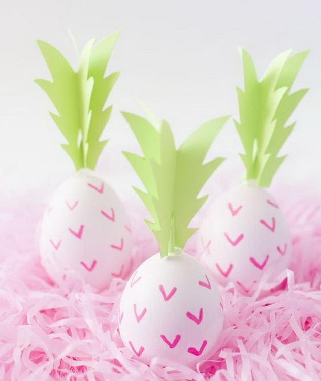 Яйца-ананас