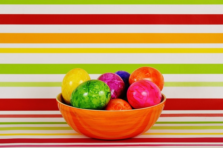Яйца пасхальные-фото