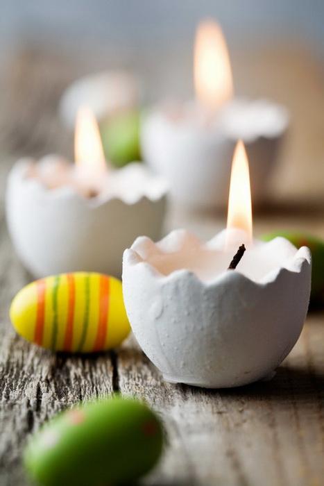 Яйцо-свеча