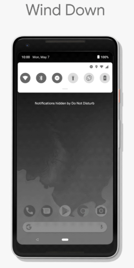 Android P-Wind down