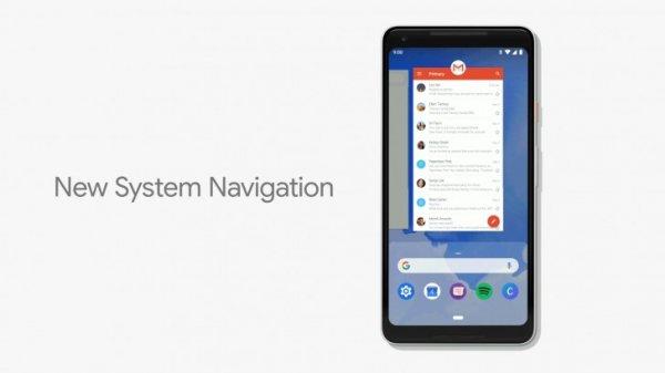 Android P-новая навигация на основе жестов