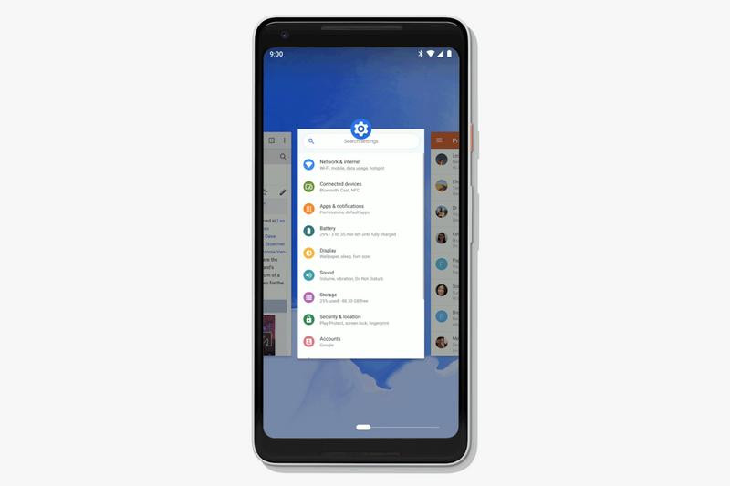 Android P-скриншот