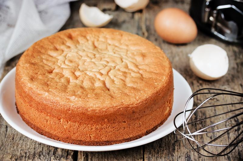 Бисквит-для кейк-попсов