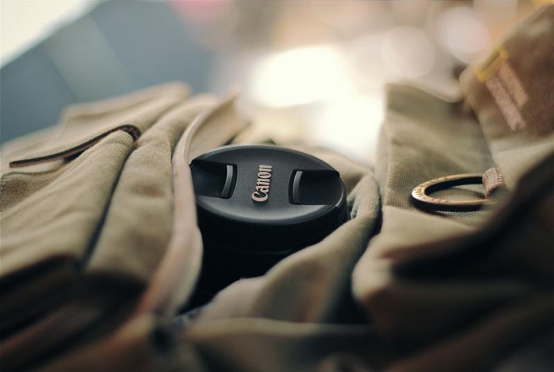 Фотокамера в рюкзаке-фото