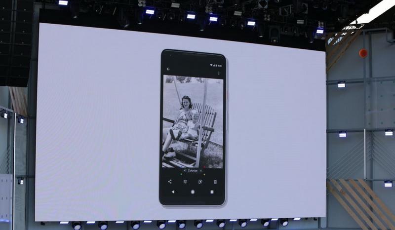 Google Photo-черно-белые фотографии