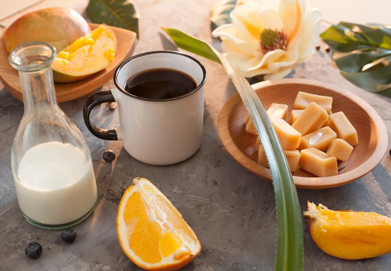 Кофе по-бразильски-с апельсином
