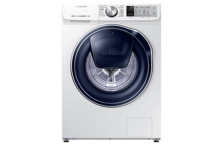 Новая линейка стиральных машин Samsung Qdrive 2018 - фронтальная часть стиральной машины