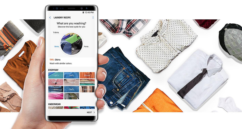 Новая линейка стиральных машин Samsung Qdrive 2018 - система Q-rator