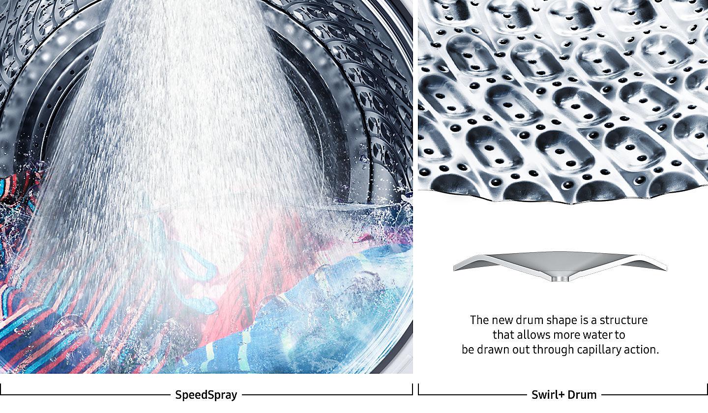 Новая линейка стиральных машин Samsung Qdrive 2018 - технология SuperSpeed