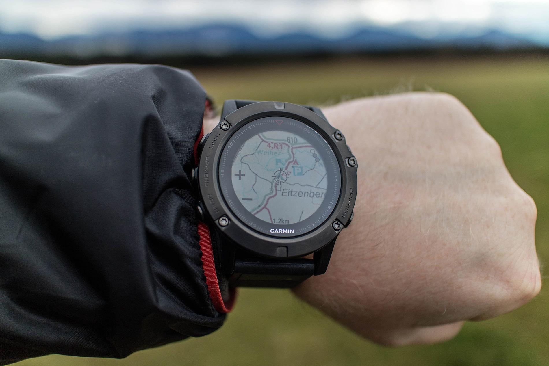 Обзор смарт-часов Garmin Fenix 5X Sapphire - Навигация в часах