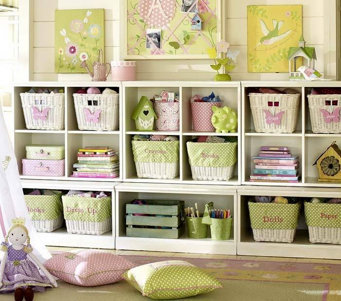 Порядок в детской комнате-организация пространства