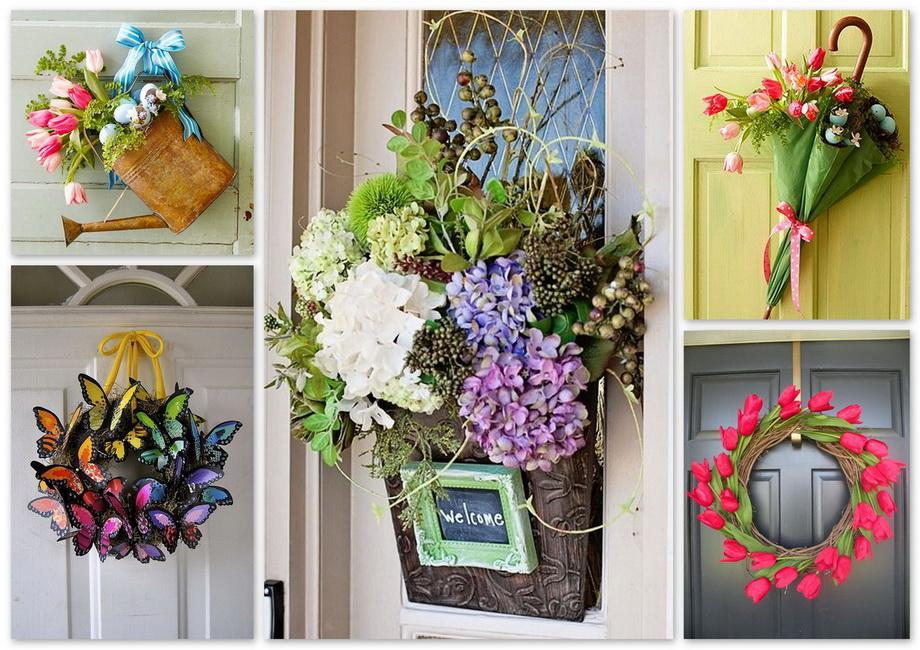 Цветы-весенний декор