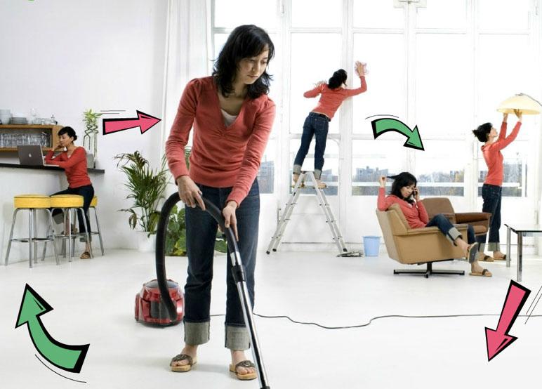 Уборка дома-фото