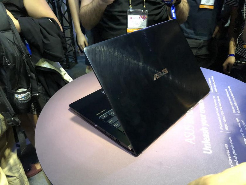 ASUS ZenBook Pro-дизайн крышка ноутбука