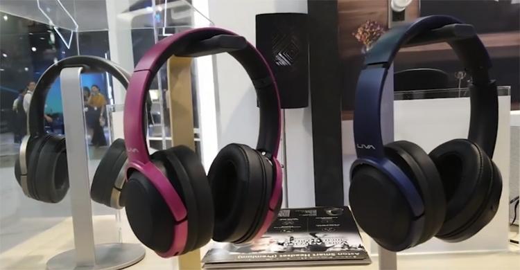 Computex-2018-умные беспроводные наушники Liva Aston SmartASUS VivoWatch BP расцветки