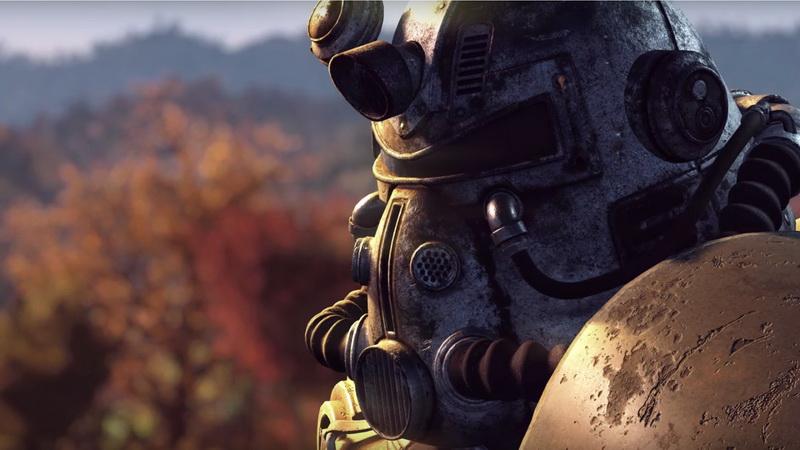 E3 2018-Fallout 76 скрин