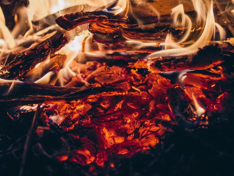 Костер-пламя
