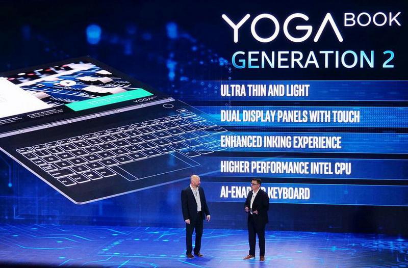 Lenovo Yoga Book 2-презентация