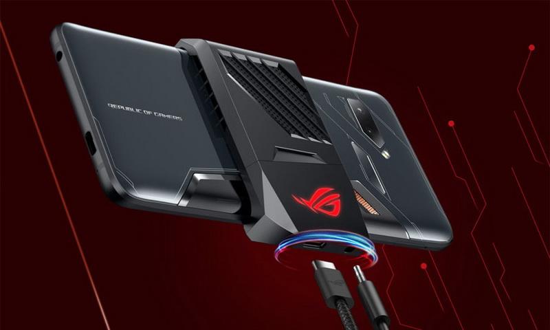 Новинки Computex-2018-Asus ROG Phone ZS600KL агрессивный дизайн