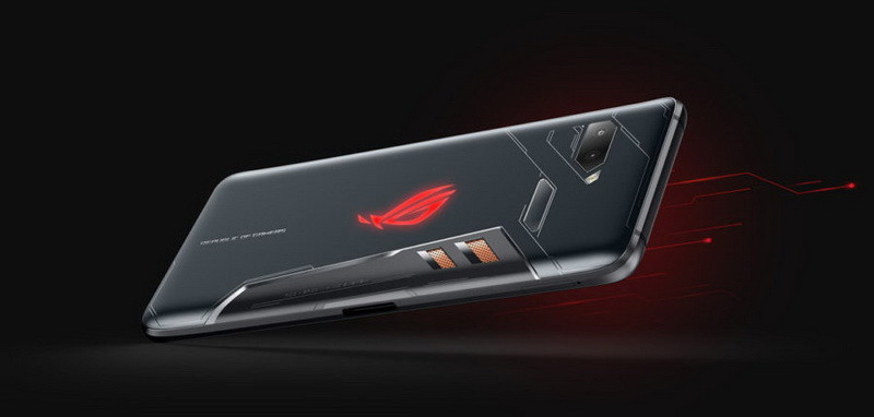 Новинки Computex-2018-Asus ROG Phone ZS600KL дизайн