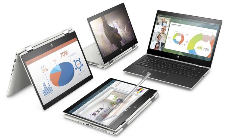 Новинки Computex-2018-ноутбук бизнес-класса HP ProBook x360 400 G1 режимы использования