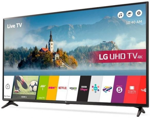 Топ-5 телевизоров со смарт тв - LG 43UJ630V