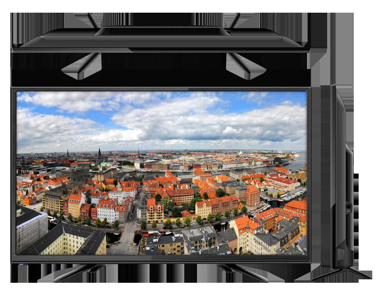 Топ-5 телевизоров со смарт тв - Liberton 32HE1HDTA с разных сторон