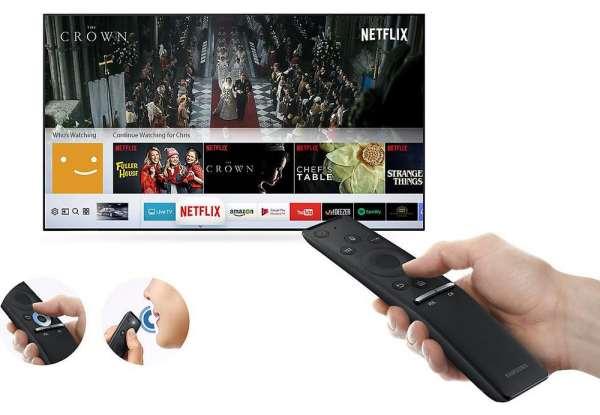 Топ-5 телевизоров со смарт тв - Samsung UE40MU6100UXUA с пультом
