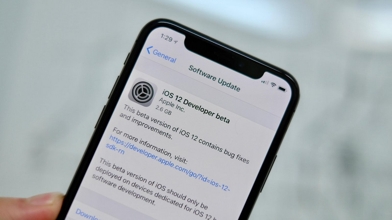 iOS 12-developer beta