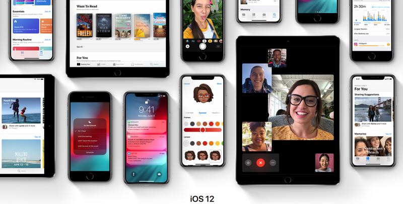 iOS 12-как преобразятся iPhone и iPad