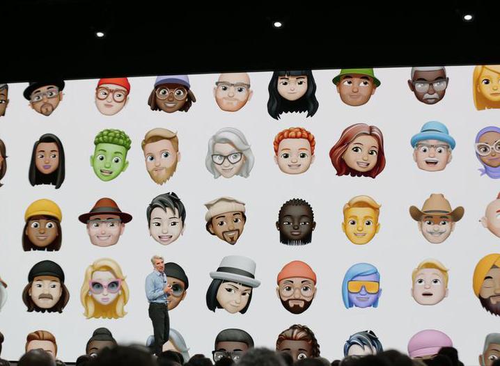 iOS 12-новые Animoji