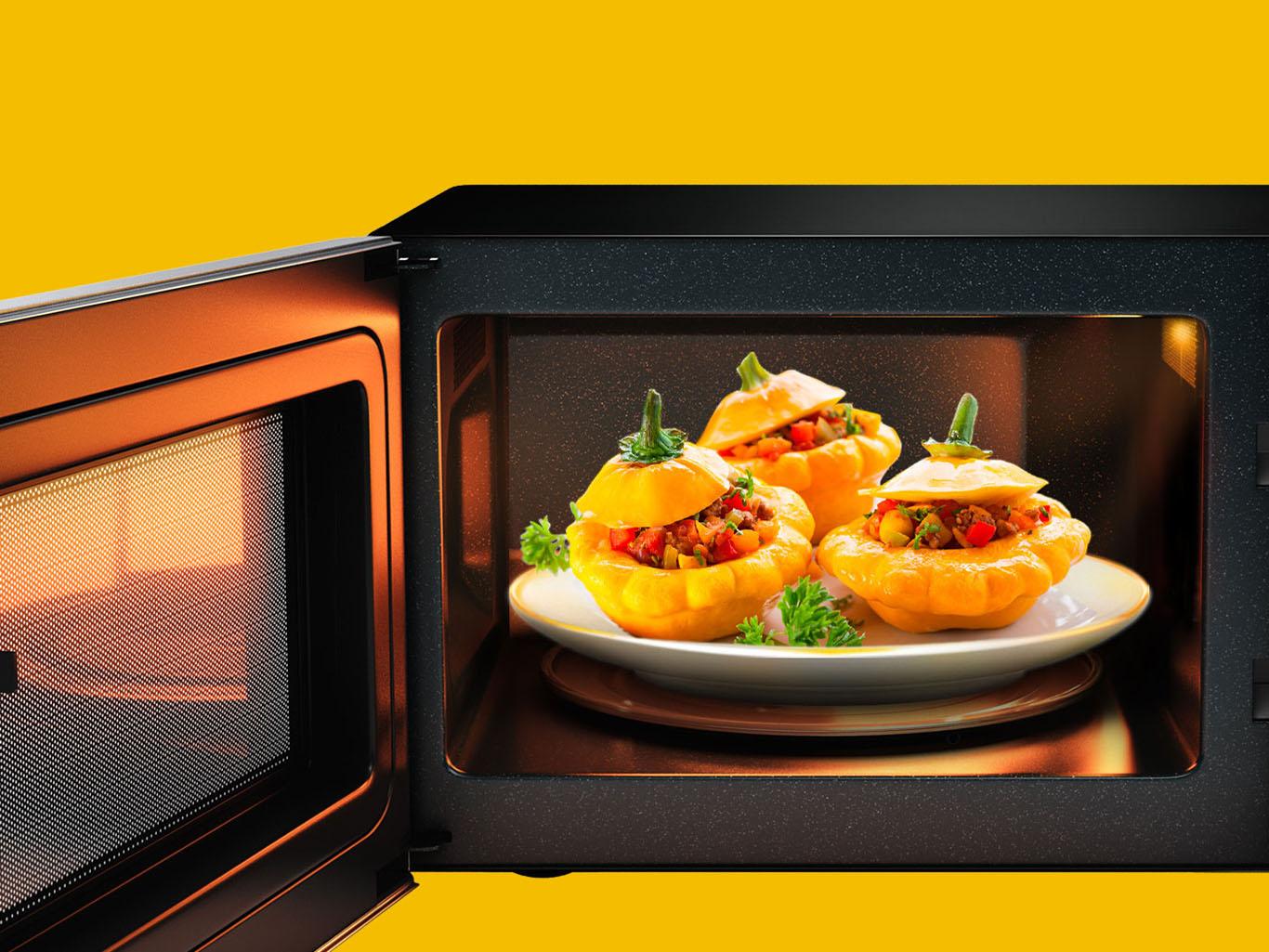 10 мифов и заблюждений о микроволновых печах - блюдо в микроволновке