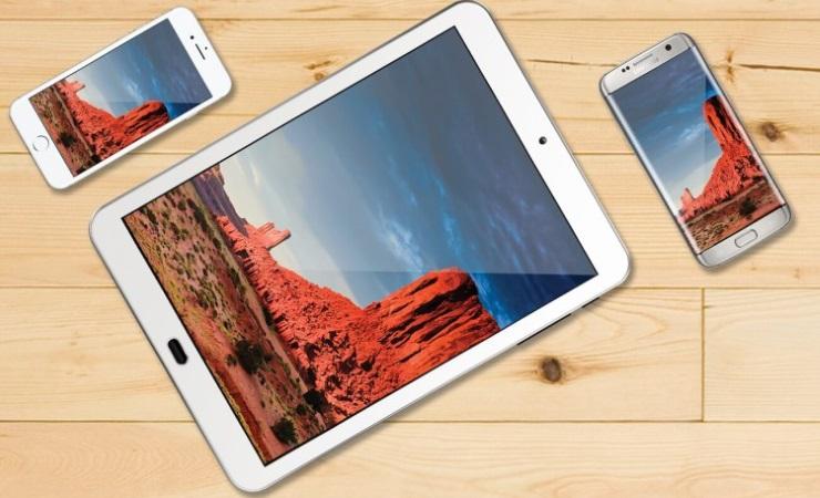 Что лучше смартфон или планшет_Отличие, сравнение и описание. Разница между ними и удобства в работе - экран смартфона и планшета
