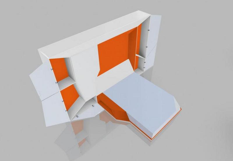 Дом будущего-модульная мебель