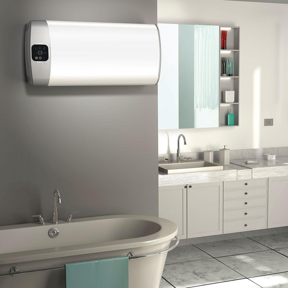 Горячая вода в радость не только зимой_правила выбора водонагревателя - горизонтальная установка водонагревателя