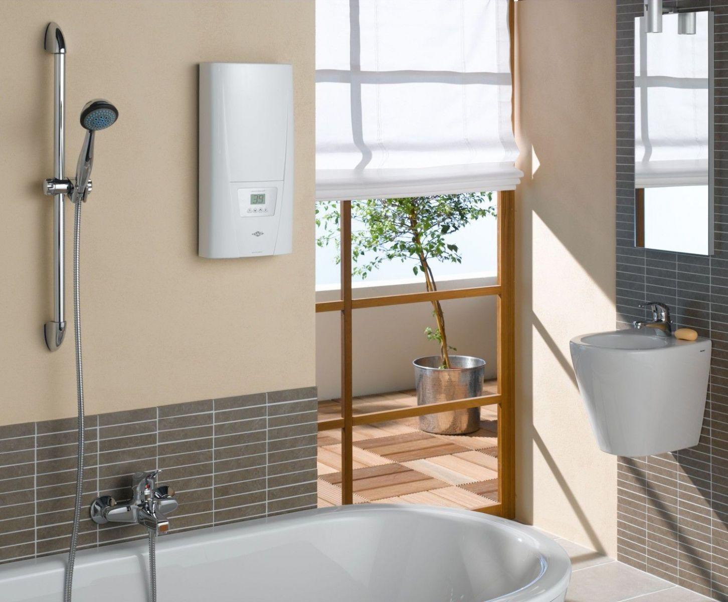 Горячая вода в радость не только зимой_правила выбора водонагревателя - проточный водонагреватель